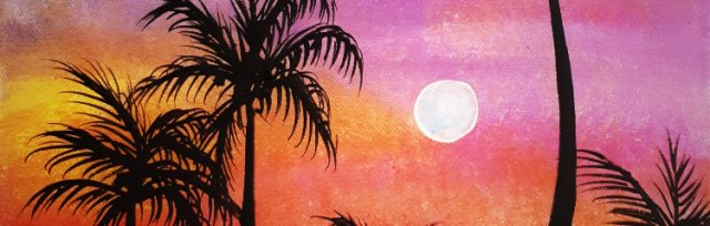 "Let's Paint ""Palm Trees"""
