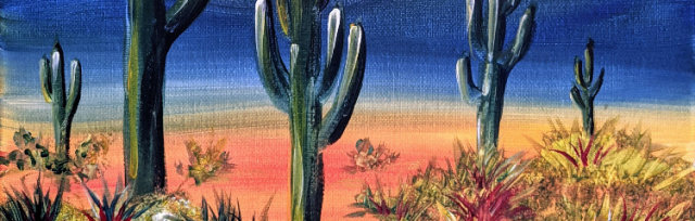 """Let's Paint """"Wild West Wander"""" - online"""
