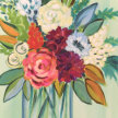 Paint & Sip! Spring Bouquet at 7pm $35 image