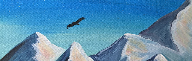 """Let's Paint """"A Night in the Andes"""" - Online"""