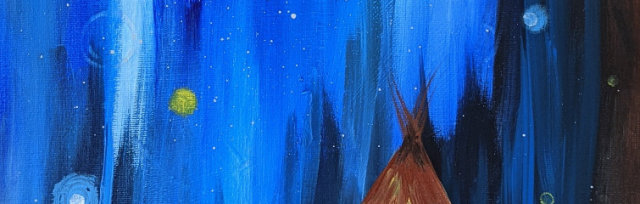 """Let's Paint """"Tepee Camp"""" - Online"""