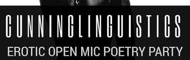 CUNNING LINGUISTICS Open Mic Night