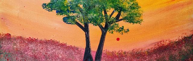 """Let's Paint """"Blissful Awakening"""" - online"""