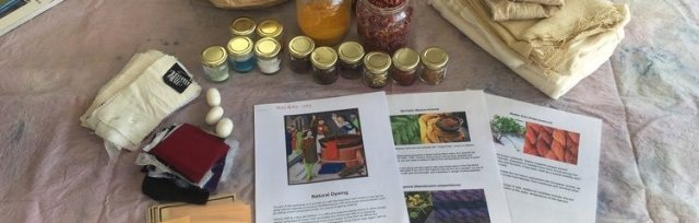 Introduction to Natural Dyes with Rhyannan Hall - £68