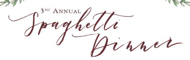 3rd Annual Spaghetti Dinner
