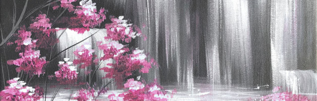 Waterfall Brush Party - Online