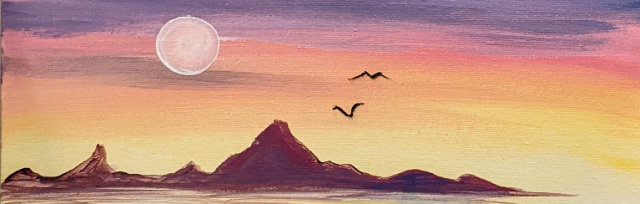 """Let's Paint """"Dock of the Bay"""" - Online"""