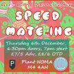 Girl Gang Manchester: Speed Mate-ing #12 image