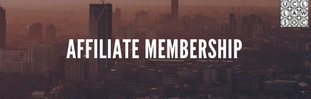 UCL Law Society Affiliate Membership