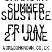 WU SUMMER SOLSTICE - FRIDAY 21ST JUNE image