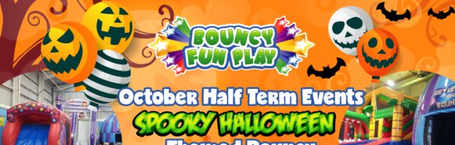 Halloween Big Bounce & Disco Party @ Ashdown Leisure Centre