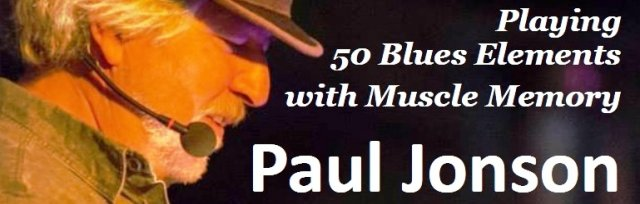 "Paul Jonson's ""Muscle Memory Magic"" Ukulele Workshop & Concert"