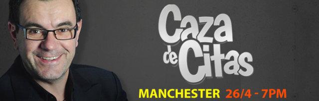 Laureano Marquez en Manchester Presentando: Caza de Citas