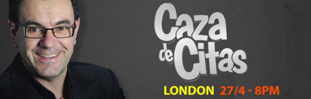 Laureano Marquez en Londres Presentando: Caza de Citas