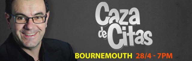 Laureano Marquez en Bournemouth Presentando: Caza de Citas