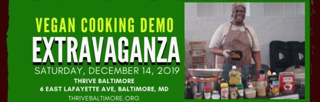 Vegan Cooking Demo Extravaganza 2019