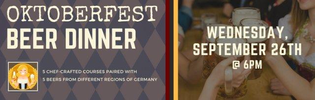 Oktoberfest Beer Dinner