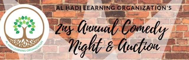 Al Hadi's 2nd Annual Comedy Night & Auction