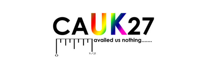 CAUK27 - HALF MEASURES AVAILED US NOTHING