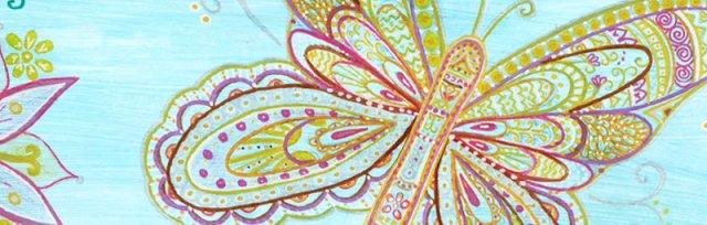 SPECIAL artbird party ONLINE | Mandala Schmetterling