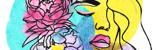 artbird party ONLINE | Line-Art Lady