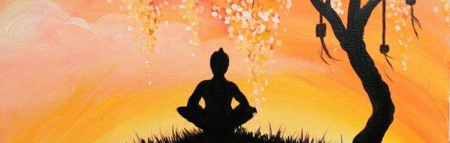 Meditation Tree Brush Party - Online