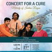 CONCERT FOR A CURE - MELODY OF INDIAN RAGAS image