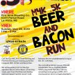 M4K .5K Beer and Bacon Run image