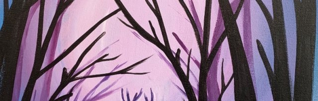 Paint & Sip!Woodlands  at 7pm $39