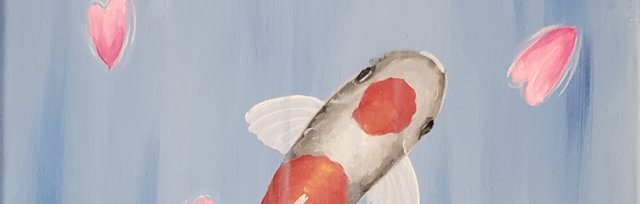 Lovely Koi Happy Paint Evening