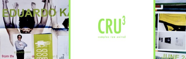 La Plaque Tournante presents the 3rd issue of CRU (Complex Row United)