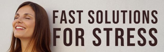 Tavistock - Fast Solutions for Stress