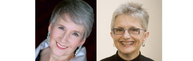Mary Ellen Callahan and Karen Rosenak in recital