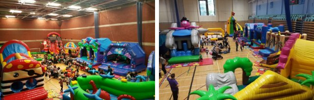 Nadder Inflatable Play Centre!