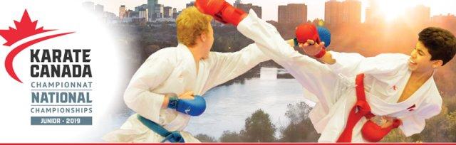 2019 Karate Canada Junior National Championships