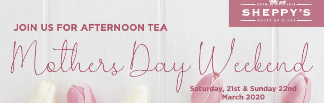 Mother's Day Afternoon Tea - Sunday