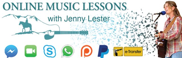 ONLINE Music Lessons with Jenny Lester