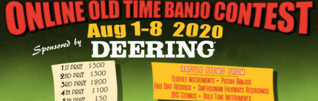Online Old Time Banjo Contest Registration