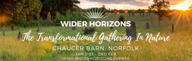 🌈🌎 Wider Horizons  - The Transformational Gathering in Nature for Young Adults - Winter Warmer  🌓 🐿