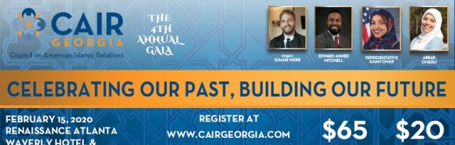 CAIR Georgia's 2020 Gala: Celebrating Our Past, Building Our Future