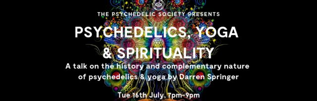 Psychedelics, Yoga & Spirituality by Darren Springer feat. Sanae Orchi