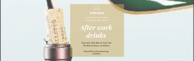 After work drinks - for mums in business who get it