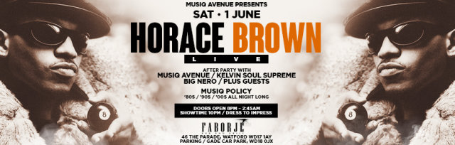 Musiq Avenue Presents Horace Brown Live