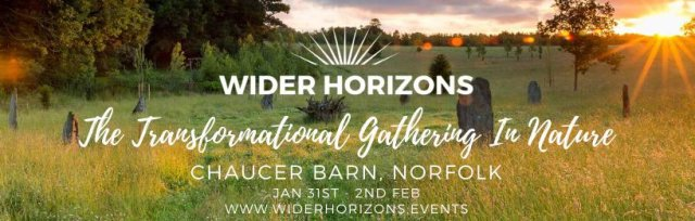 🌎 🌈 Wider Horizons  - The Transformational Gathering in Nature for Young Adults - Winter Warmer  🌓 🐿