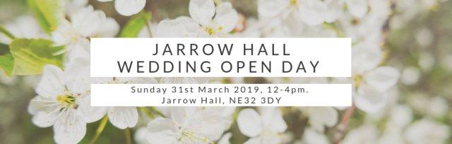 Jarrow Hall Wedding Open Day