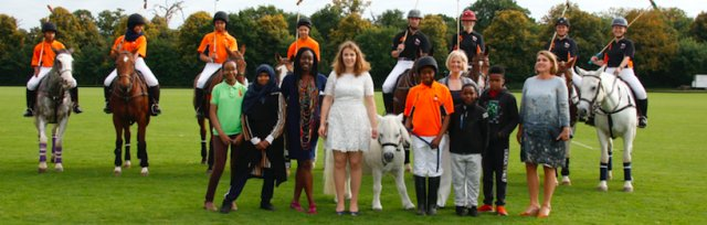 Ebony Horse Club's Annual Charity Polo Event at Ham Polo Club