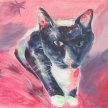 """Paint & Sip """"Black Cat"""" at 11am $22 image"""