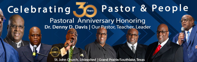 May 22: Pastoral Anniversary Service