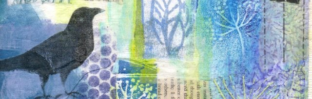 Collage, Paint and Print with Karen Carter [Ref#5212]