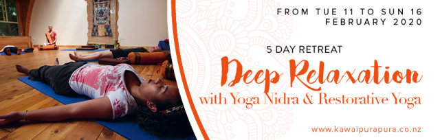 Deep relaxation with Yoga Nidra & Restorative Yoga - 5 days retreat